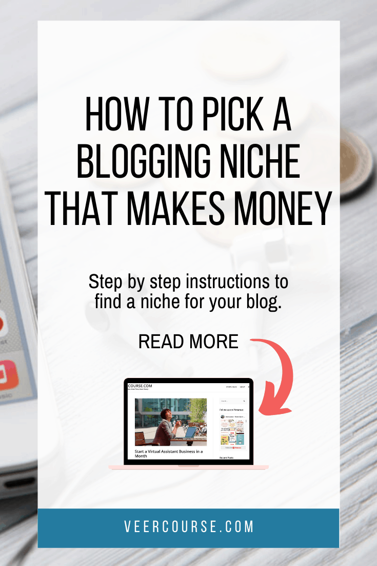 Step by step guide on how to find a profitable niche for your blog. We cover most popular blogging niches and how to find niche for your blog. Don't write a single work before reading how to choose a blogging niche that makes you money! #bloggingtips #profitableblogging #bloggingforbeginners
