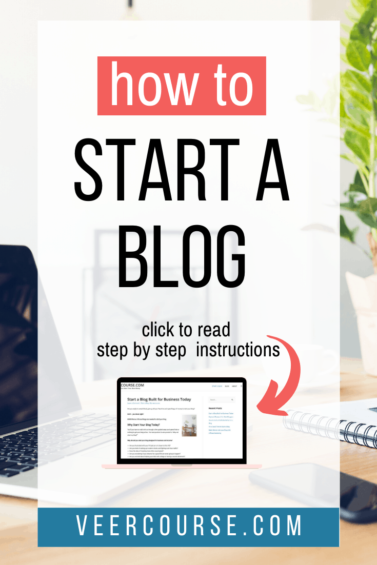 How to start a blog blog posts that covers every step necessary. If you want to start a blog to make money, read this. We give ideas and tips from years of experience. #startablog #startablogforbeginners #startablogtomakemoney